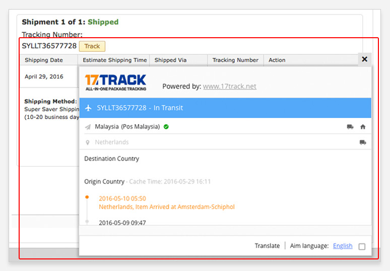 how can i track my package