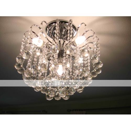 TURLOCK - Lampadario in cristallo con 5 lampadine - recensione