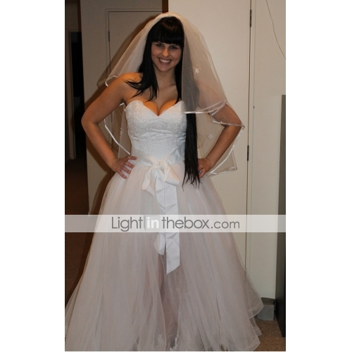 Light in the box wedding dress review inspirational for Wedding dress light in the box
