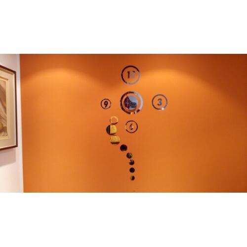 Orologio da parete a specchio acrilico recensione - Orologio a specchio ...