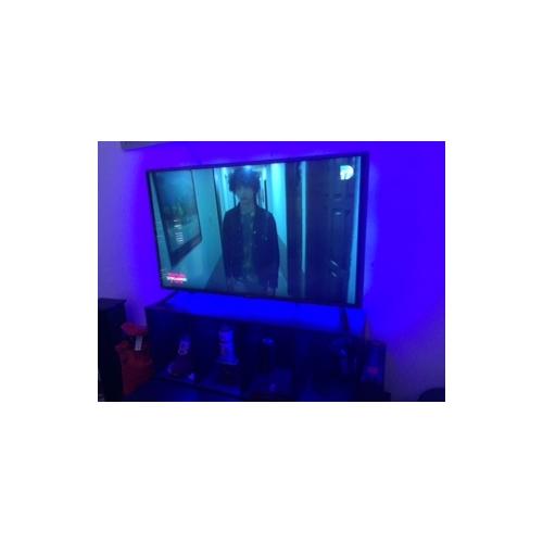 w bandes lumineuses led flexibles ensemble de luminaires barrette d 39 eclairage rvb lm ac100 240 5. Black Bedroom Furniture Sets. Home Design Ideas