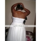 Lanting Bride® A-line / Princess Petite / Plus Sizes Wedding Dress - Chic & Modern / Reception Little White Dresses Knee-length Halter