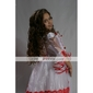 A-line/Princess Floor-length Flower Girl Dress - Satin/Organza Long Sleeve
