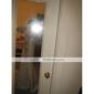 Coloană / Teacă Pătrat Mătura / Trenă Dantelă Satin Rochie de mireasă cu Dantelă Eșarfă / Panglică Arc de LAN TING BRIDE®