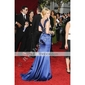 elastic țesute satin trompeta / Mermaid lingura Curtea tren rochie de seara inspirate de Christina Applegate la premiul Emmy