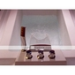 Sprinkle® - Robinet de baignoire en laiton cascade avec douche à main (finition chromée)