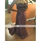 LYSSA - kjole til Aften i satin