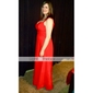 Formal Evening/Military Ball Dress - Ruby Plus Sizes Sheath/Column Straps/Sweetheart Floor-length Chiffon