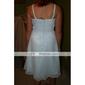 FLORA - Robe pour Mariage et de Demoiselle d'Honneur Mousseline