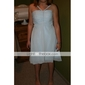 Lanting Bride® Mi-long Mousseline de soie Robe de Demoiselle d'Honneur - Trapèze / Princesse Bretelles Fines Grande Taille / Petite avec