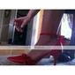 satin övre hög klack slutna-tår speciella tillfällen skor fler färger