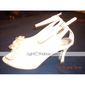 Top Quality Sparkle Upper Mid HeelPeep-toes With Bowknot Wedding Shoes/ Bridal Shoes