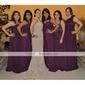 HELLA - Kleid für Hochzeitsfeier und Brautjungfer aus Chiffon