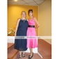 PHILANA - kjole til bryllupsfest eller brudepige i satin
