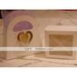 Marcadores y Abrecartas(Blanco / Plata) -Tema Clásico-No personalizado Acero inoxidable