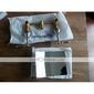 krom vattenfall bathroom sink kran (väggfäste)