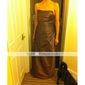 Floor-length Taffeta Bridesmaid Dress - Brown Plus Sizes / Petite A-line / Princess / Sheath/Column Strapless