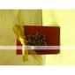 Asian Style Favor Box With Double Happiness And Gold Bow (Set of 12)