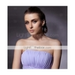 TS Couture® Formal Evening / Military Ball Dress - Lavender Plus Sizes / Petite Sheath/Column Strapless / Spaghetti Straps Sweep/Brush Train Chiffon