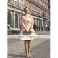 νυφικό Α-γραμμή / πριγκίπισσα στράπλες γόνατο-μήκους φόρεμα οργάντζα