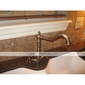 Antique Inspired Brass Kitchen Faucet (Antique Brass Finish)