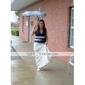 Floor-length Satin Bridesmaid Dress Plus Sizes Trumpet/Mermaid Halter/V-neck