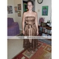 CORINA - Kleid für Brautjungfer aus Satin und Spitze
