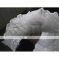 Véu Catedral(Branco / Marfim,TuleVéu Caído-Borda Recortada Uma Camada 102,36 em (260 centímetros)