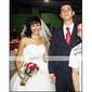 vestido de baile Lanting noiva de tule querida petite / plus casamento tamanhos vestir-na altura do joelho