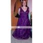 Lanting Bride® Corte en A Talla Grande / Pequeña Vestido de Madrina Hasta el Suelo Sin Mangas Organza - Volantes / Fruncido / Volantes