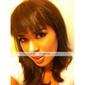 24 pouces brun staight clip-in extensions de cheveux