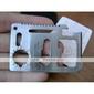 voyageur kit multiples outil usage 11 en 1 avec étui en cuir