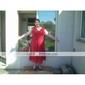 Mama mireasa rochie Teacă / Coloană Lungime ieșire ceai - Fără mâneci Șifon