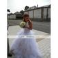 mingea rochie ștreangul podea-lungime tafta tul rochie de mireasa pentru mireasa (wgy0065)
