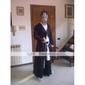 Inspiré par Cosplay Cosplay Anime Costumes de cosplay Costumes Cosplay / Kimono Couleur Pleine Noir Manche LonguesManteau / Pantalons