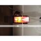 Robinete de Chiuvetă Baie - Contemporan - DI Alamă - LED / Cascadă (Crom)