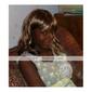 capless ekstra lang høykvalitets syntetisk gylden brun krøllete hår parykker 0988-J45 27-30
