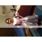 HANAKO - Vestido de Damita de honor de Satén