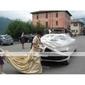 Lanting Bride® Linha A / Princesa Pequeno / Tamanhos Grandes Vestido de Noiva - Clássico e atemporal / Elegante e Luxuoso Cauda Capela