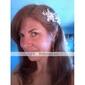 Peigne Casque Mariage/Occasion spéciale Alliage/Imitation de perle Femme Mariage/Occasion spéciale