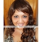 Capless Long High Quality Synthetic Brown Curly Hair Wig