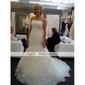 nailon o linie rochie completă 1 podea-lungime alunecare stil / nunta jupoane nivel