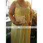 Coloană / Teacă Lungime Podea Șifon Seară Formală Bal Militar Rochie cu Mărgele Detalii Cristal de TS Couture®