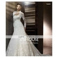 Trumpet/ Mermaid Square Court Train Satin Lace Wedding Dress
