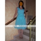 MARISHA - kjole til bryllupsfest eller brudepige i chiffon