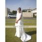 MARIAMA - Vestido de Florista de Organza y Satén