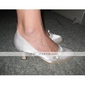 satin övre mellanprissegmentet häl slutna-tår kvällens fest skor / speciella tillfällen färger shoes.more tillgängliga