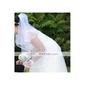 2 camadas cotovelo véu de noiva casamento