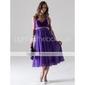 NEELE - Платье для вечеринок или для свидетельницы из шифона и атласа