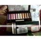blød glitre 10 farver øjenskygge palet med gratis børste